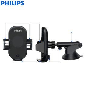 Gía đỡ điện thoại kiêm sạc không dây trên ô tô, xe hơi Philips DLK9411N 29