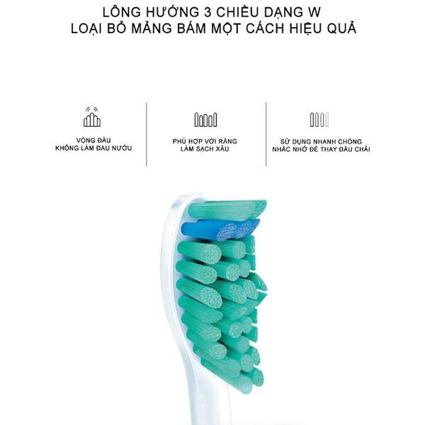 Bàn chải đánh răng điện Philips HX3216/01 12