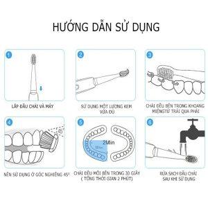 Bàn chải đánh răng điện Philips HX3216/01 29