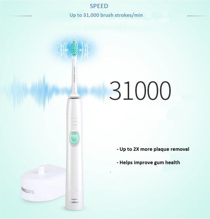 Bàn chải đánh răng điện có thể sạc Philips HX6511 8