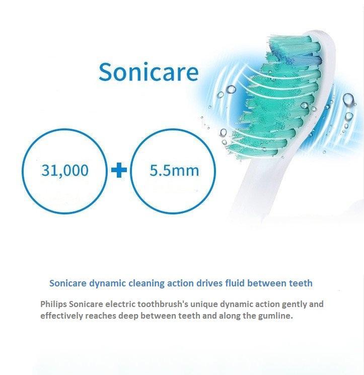 Bàn chải đánh răng điện có thể sạc Philips HX6511 6