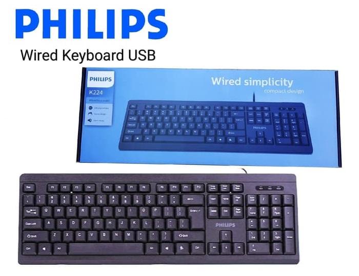 Bàn Phím có dây Philips SPK6224/ K224 9