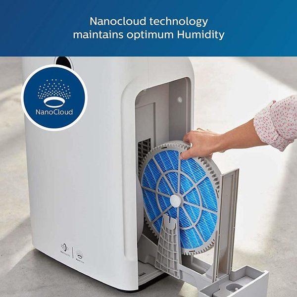 Máy lọc không khí kèm chức năng tạo độ ẩm 2 trong 1 Philips Series 3000 AC2726/00 13