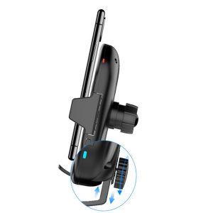 Gía đỡ điện thoại kiêm sạc không dây trên ô tô, xe hơi Philips DLK9411N 24