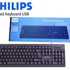 Bàn Phím có dây Philips SPK6224/ K224 5