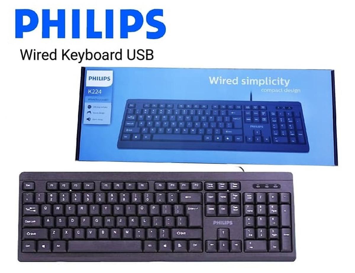 Bàn Phím có dây Philips SPK6224/ K224 10
