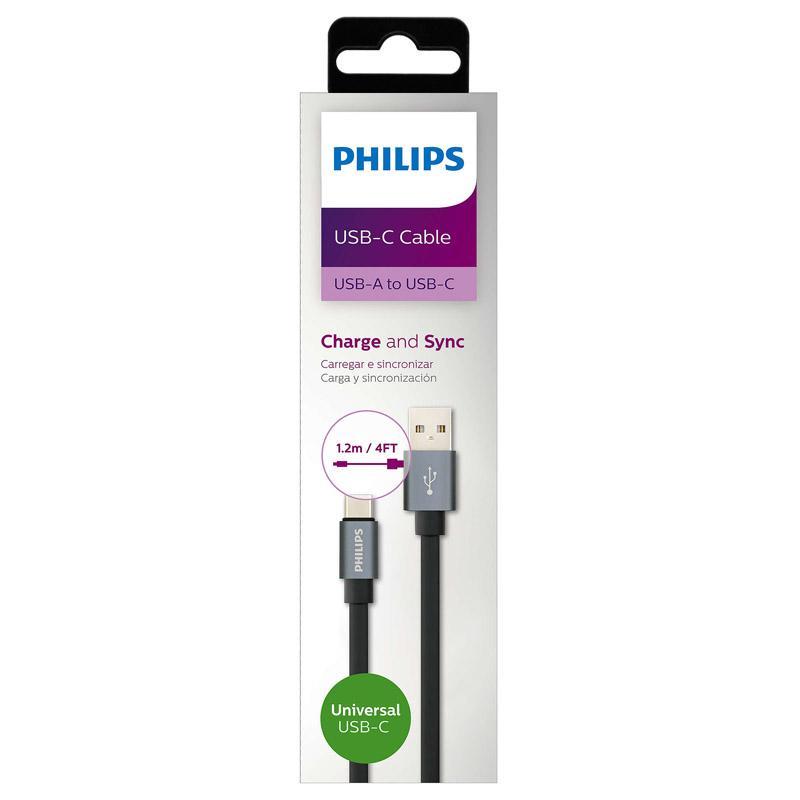 Cổng sạc nhanh typeC Philips DLC2528F 1.2m 8