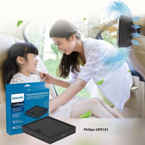 Tấm lọc, màng lọc không khí GSF160Plus dùng cho máy khử mùi, lọc không khí Philips GP9101 4