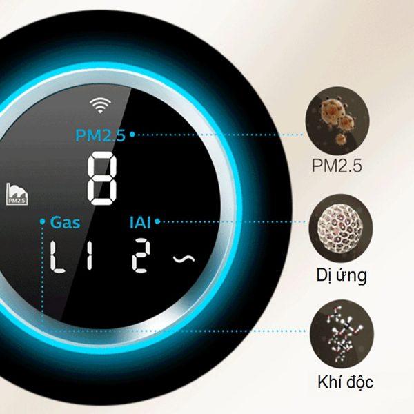 Máy lọc không khí cao cấp kháng khuẩn Philips AC5668/00 tích hợp Wifi - 65W 16