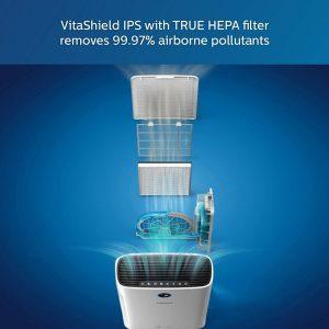 Máy lọc không khí kèm chức năng tạo độ ẩm 2 trong 1 Philips Series 3000 AC2726/00 32