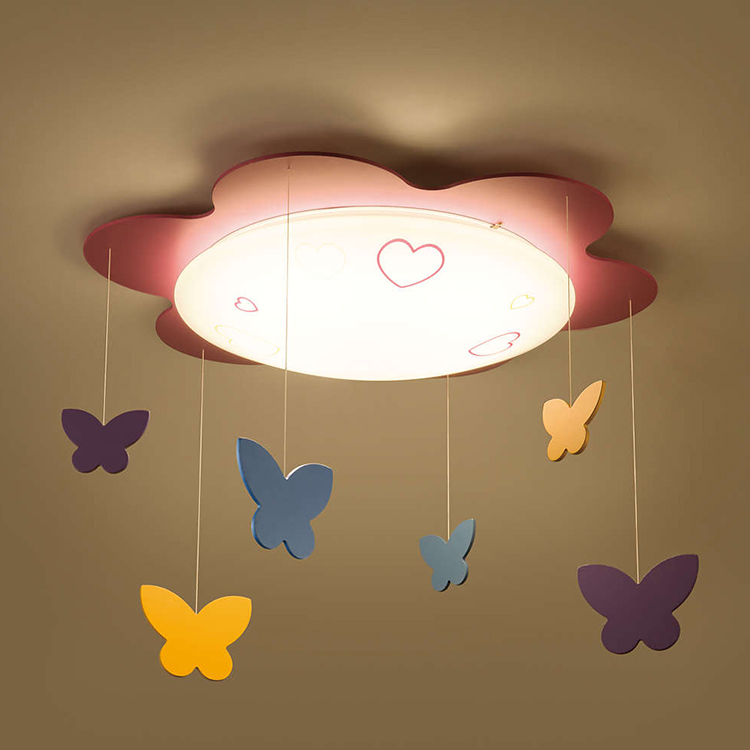 Đèn trần phòng trẻ em Philips LED Butterfly 77500 - 22W 2