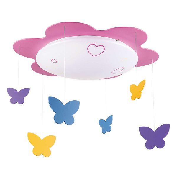 Đèn trần phòng trẻ em Philips LED Butterfly 77500 - 22W 1