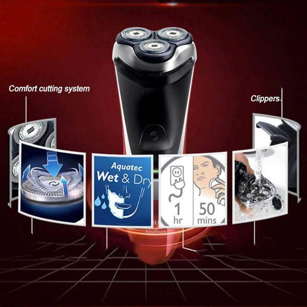 Máy cạo râu nhãn hiệu Philips AT800/16 3 lưỡi cạo tự mài 11