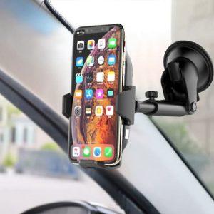 Gía đỡ điện thoại kiêm sạc không dây trên ô tô, xe hơi Philips DLK9411N 21