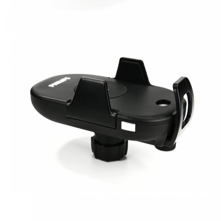 Gía đỡ điện thoại kiêm sạc không dây trên ô tô, xe hơi Philips DLK9411N 38