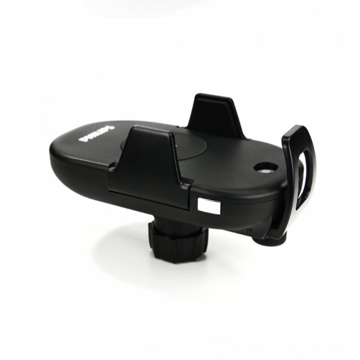 Gía đỡ điện thoại kiêm sạc không dây trên ô tô, xe hơi Philips DLK9411N 58