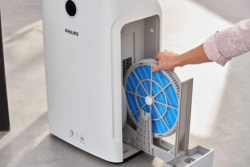Máy lọc không khí kèm chức năng tạo độ ẩm 2 trong 1 Philips Series 3000 AC2726/00 42