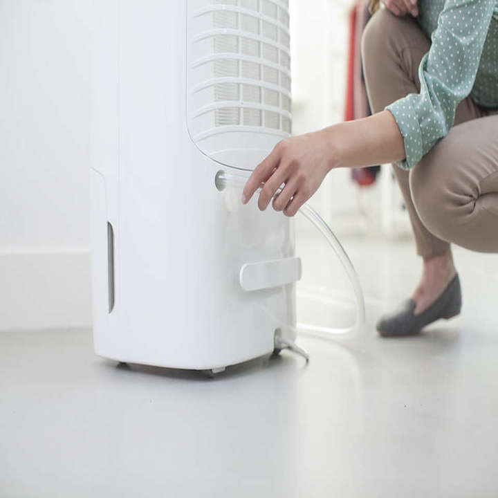 Máy lọc không khí kiêm hút ẩm Philips DE5206/00 355W-Cảm biến không khí 4 màu 36