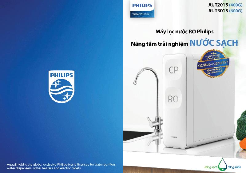 Máy Lọc Nước RO Philips AUT2015 6