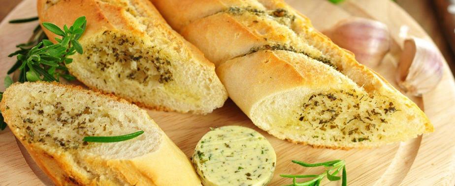 Bánh mì cháy tỏibằng nồi chiên không dầu