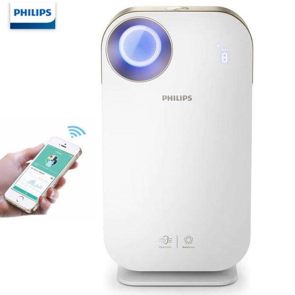 Máy lọc không khí trong nhà kháng khuẩn Philips AC4558/00 tích hợp Wifi, cảm biến chất lượng không khí 4 màu 1