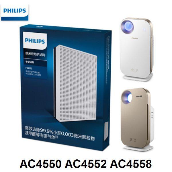 Tấm lọc, màng lọc thay thế Philips FY4152/00 dùng cho các mã AC4550, AC4552, AC4558 3