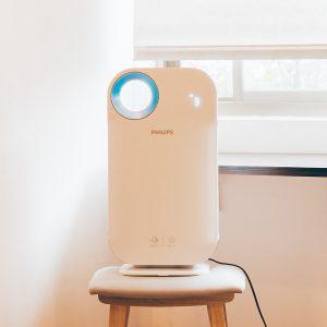Máy lọc không khí trong nhà kháng khuẩn Philips AC4558/00 tích hợp Wifi, cảm biến chất lượng không khí 4 màu 25