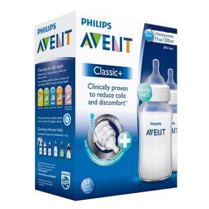 Bộ 2 Bình Sữa Nhựa PP Philips Avent- 566.27 (330ml) 5
