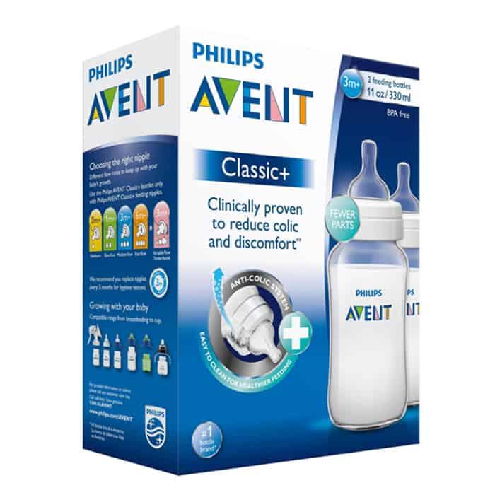 Bộ 2 Bình Sữa Nhựa PP Philips Avent- 566.27 (330ml) 8