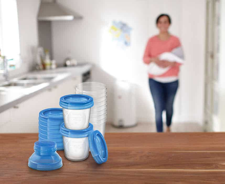 Cốc Trữ Sữa VIA Philips Avent SCF618/10 - (10Ly -180ml) 4