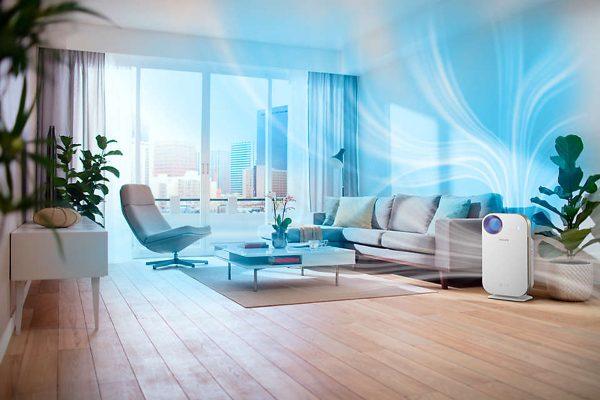 Máy lọc không khí trong nhà kháng khuẩn Philips AC4558/00 tích hợp Wifi, cảm biến chất lượng không khí 4 màu 11