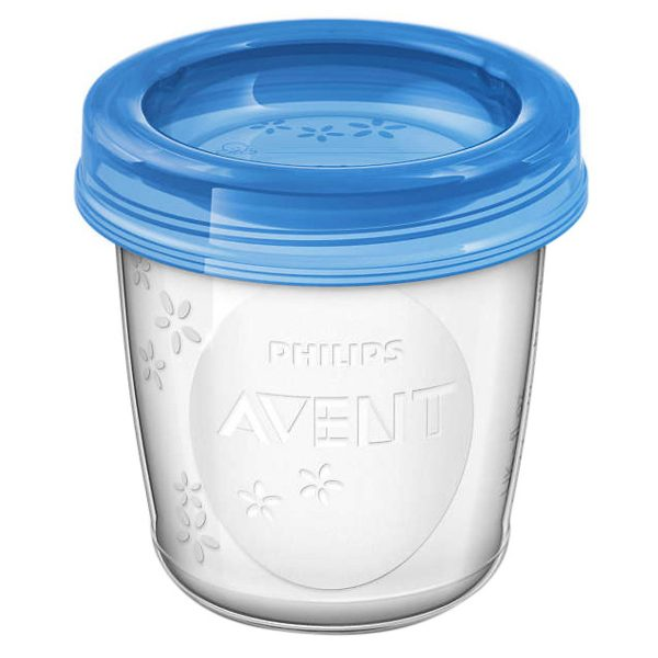 Cốc Trữ Sữa VIA Philips Avent SCF618/10 - (10Ly -180ml) 2