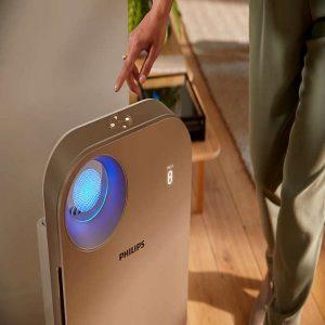 Máy lọc không khí trong nhà kháng khuẩn Philips AC4558/00 tích hợp Wifi, cảm biến chất lượng không khí 4 màu 31