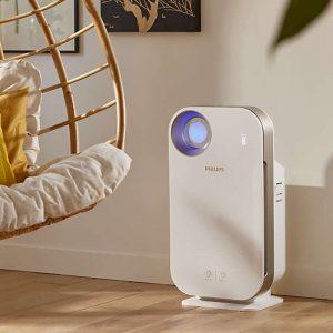 Máy lọc không khí trong nhà kháng khuẩn Philips AC4558/00 tích hợp Wifi, cảm biến chất lượng không khí 4 màu 32