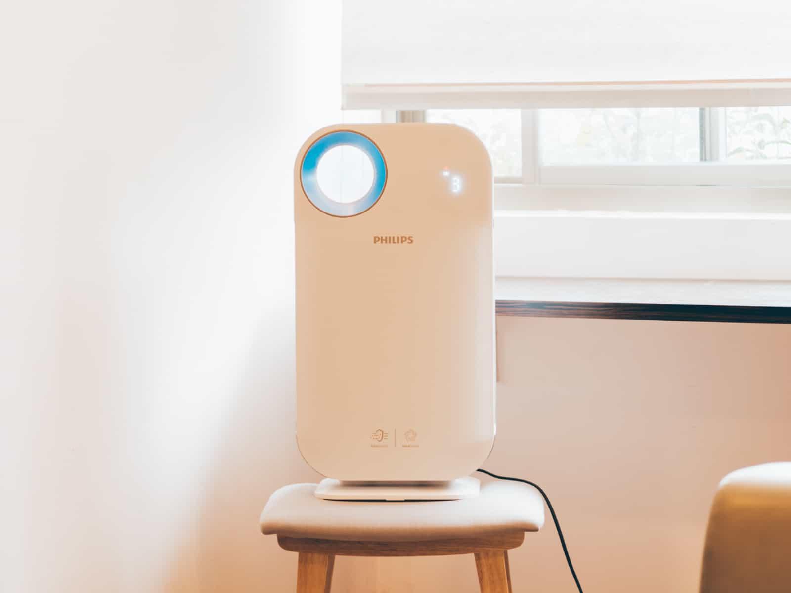 Máy lọc không khí trong nhà kháng khuẩn Philips AC4558/00 tích hợp Wifi, cảm biến chất lượng không khí 4 màu 49