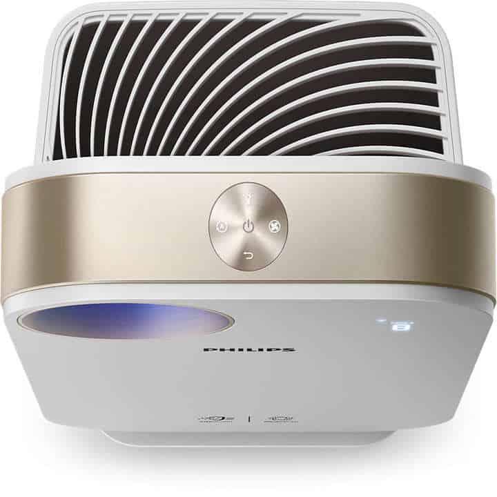 Máy lọc không khí trong nhà kháng khuẩn Philips AC4558/00 tích hợp Wifi, cảm biến chất lượng không khí 4 màu 40