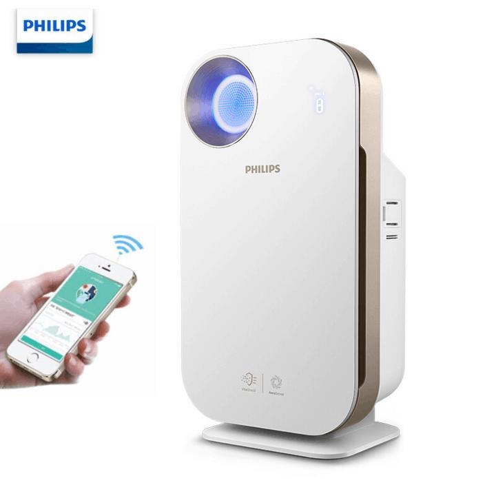 Máy lọc không khí trong nhà kháng khuẩn Philips AC4558/00 tích hợp Wifi, cảm biến chất lượng không khí 4 màu 36