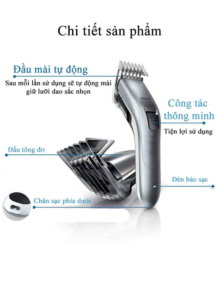 Tông đơ cắt tóc Philips QC5130 11