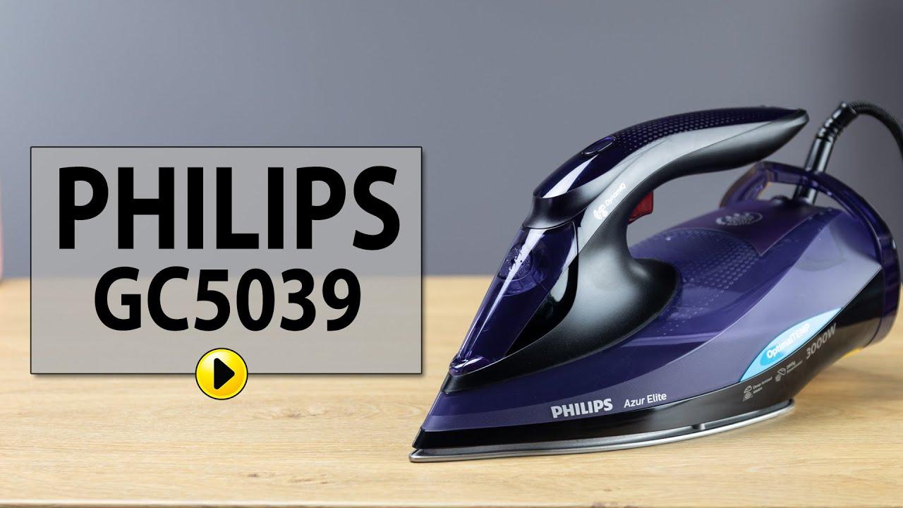 Review bàn ủi hơi nước chống cháy Philips Azur Elite GC5039 - Philips Việt  Nam